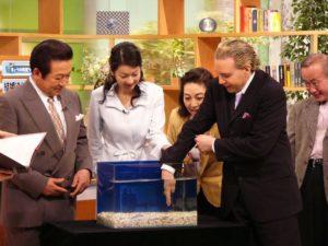 日本テレビ様 注目のドクターフィッシュ水槽をご提供